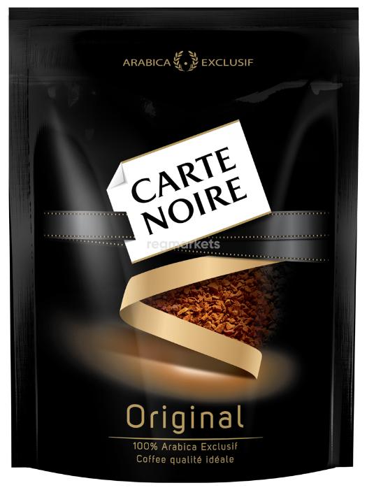Carte Noire Кофе растворимый сублимированный пакет 75г*12