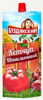 Кетчуп Буздякский  Шашлычный  260гр Дой-пак