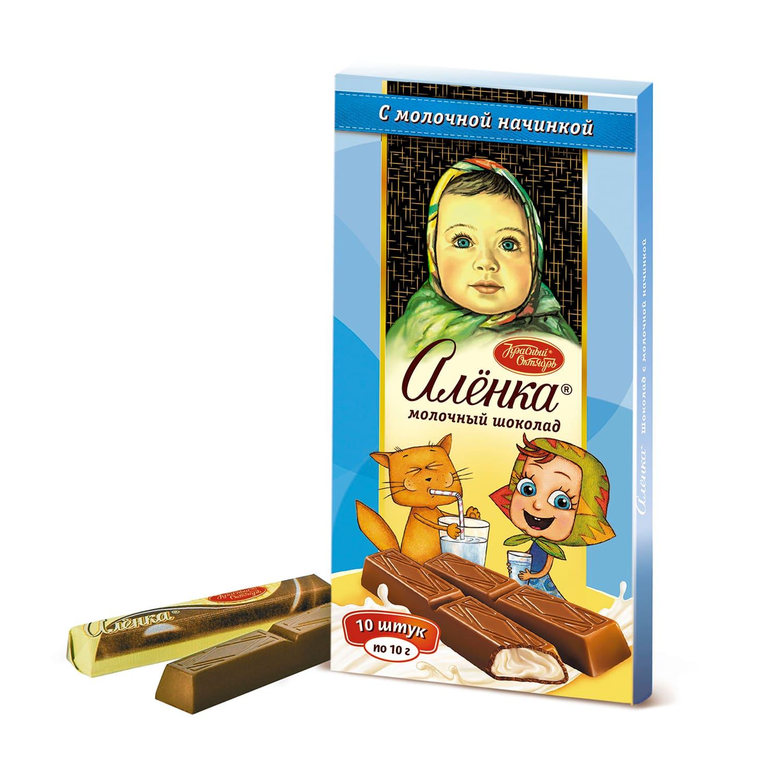 Шоколад  Аленка  в стиках 100гр.