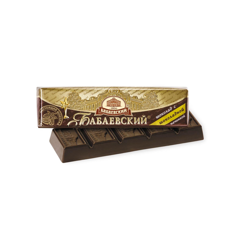 Шоколад  Бабаевский  Шоколадная Начинка 50гр.