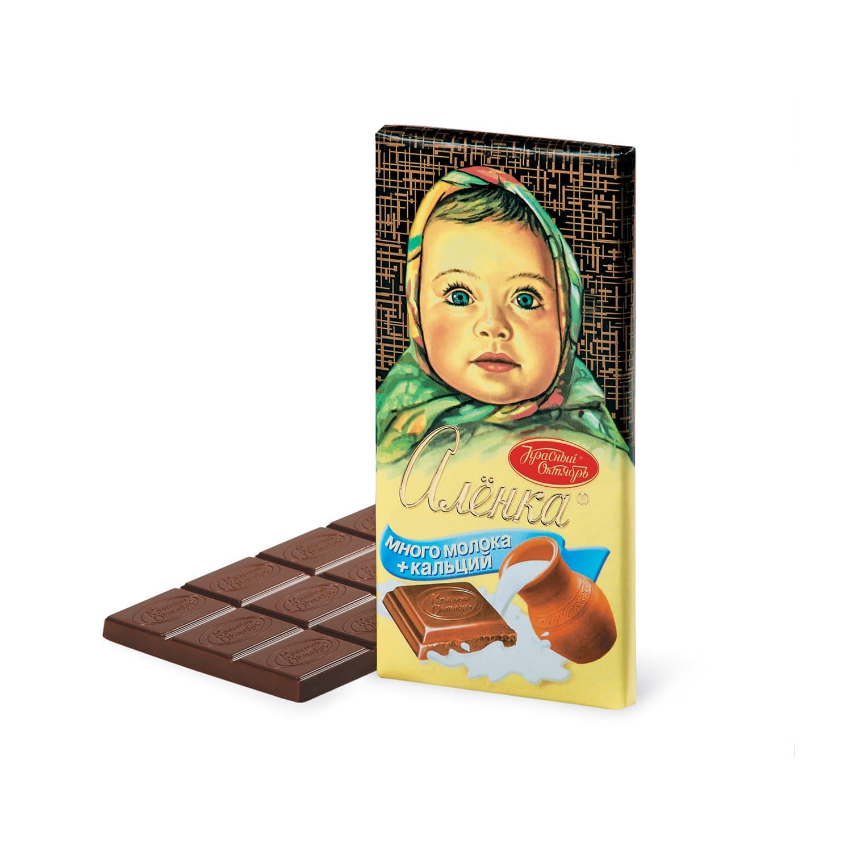 Шоколад  Аленка  много молока 100гр.