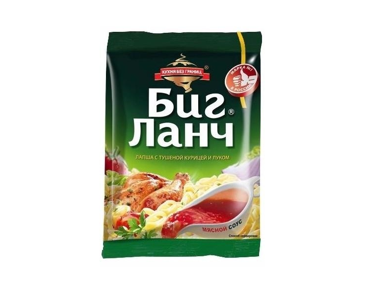Лапша  Биг Ланч  курица/лук 75 гр