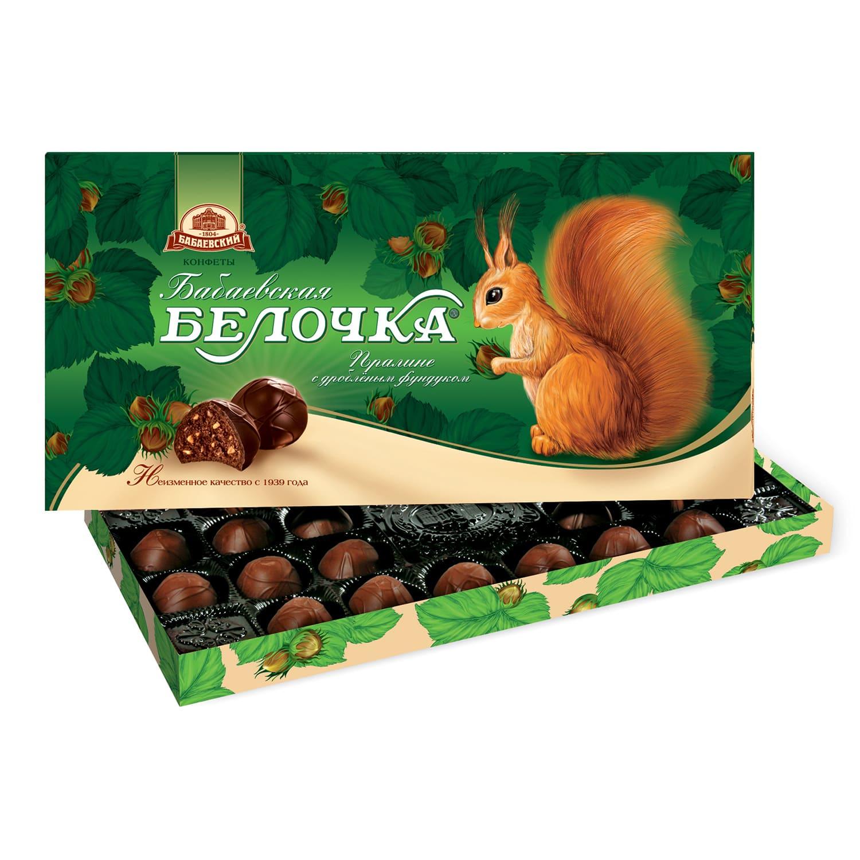 Набор конфет  Бабаевская Белочка  400гр.