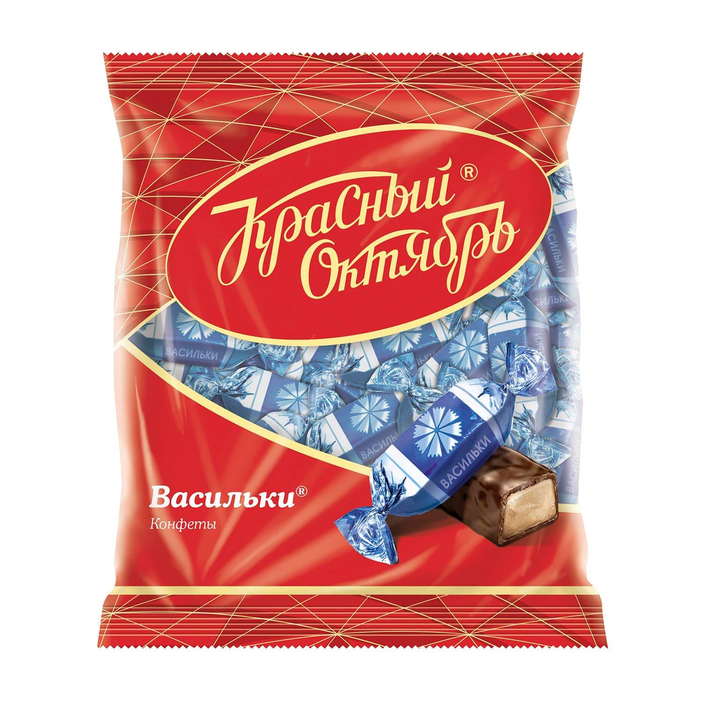 КОНФЕТЫ ВАСИЛЬКИ 250Г РОТ ФРОНТ