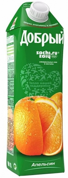 Нектар  Добрый  апельсин 1л