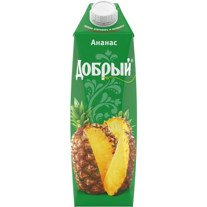 Нектар  Добрый  ананас 1л.