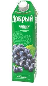 Нектар  Добрый  виноград 1л