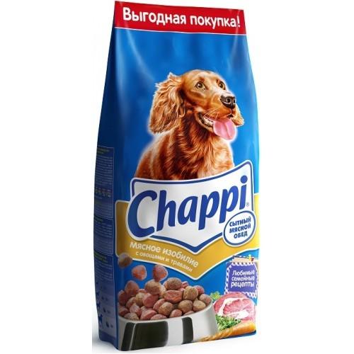 Сухой корм  Чаппи  сытный мясной обед мясное изобилие 15кг.