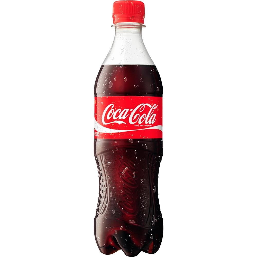 Газированная вода  Кока-кола  0.5л