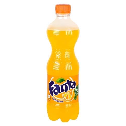 Газированная вода  Фанта  апельсин 0.5л