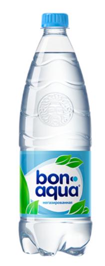 Вода питьевая  Бон Аква  без газа 1 л ПЭТ