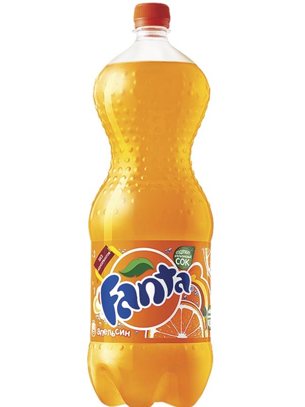 Газированная вода  Фанта  апельсин 2л