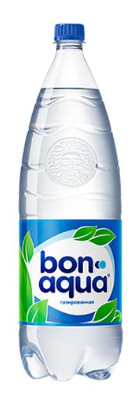 Вода питьевая сильногазированная  Бон Аква  2л
