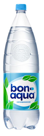 Вода питьевая  Бон Аква  без газа 2л