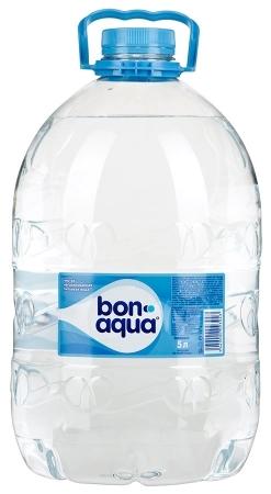 Вода питьевая  Бон Аква  без газа 5л