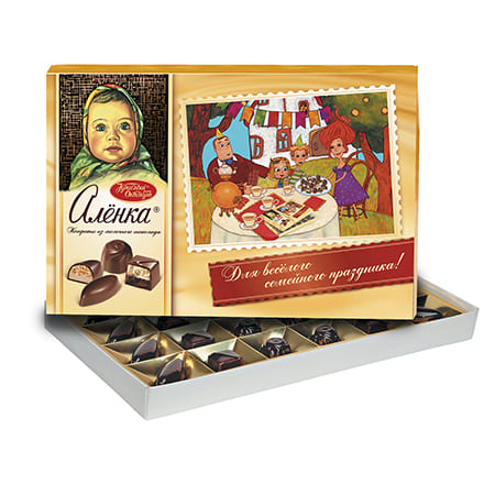 Набор конфет  Аленка  185гр.
