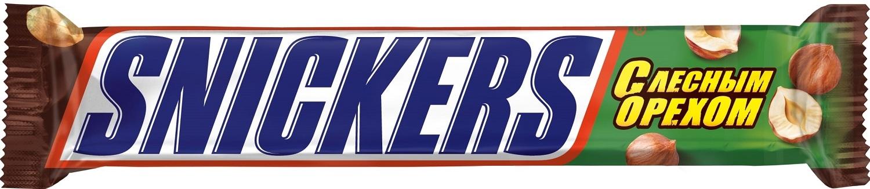 Шоколад  Сникерс  лесной орех 81гр