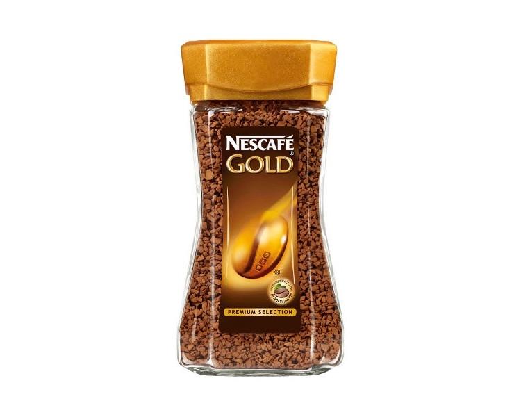 Кофе растворимый  Нескафе голд  95гр