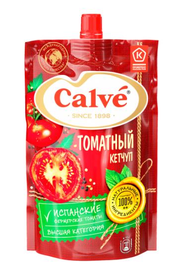 Кетчуп  Кальве  томатный 350гр.