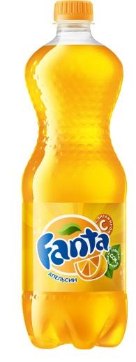 Газированная вода  Фанта  апельсин 1.5л