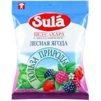 Леденцы без сахара  Зула  лесные ягоды 60гр.