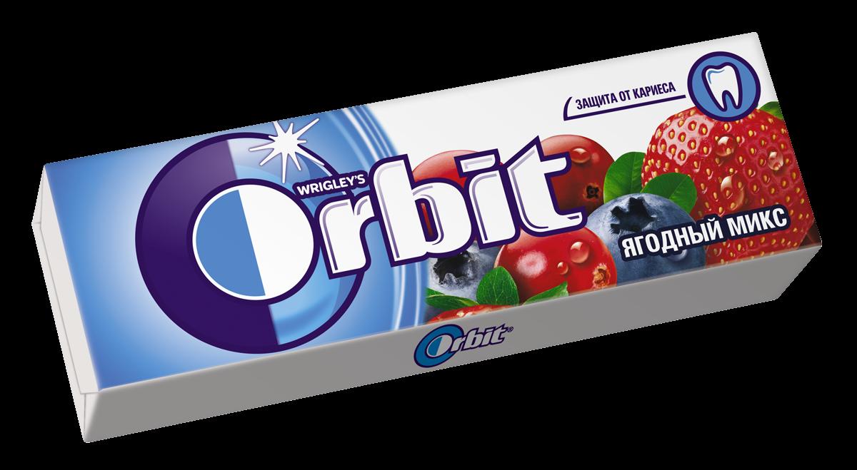 Жевательная резинка  Орбит  ягодный микс 13.6гр.
