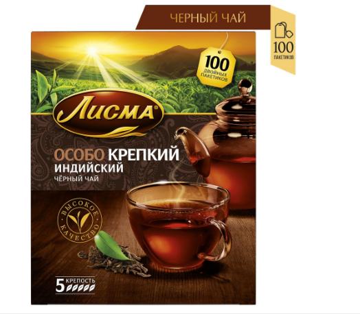 Чай Лисма Особо Крепкий