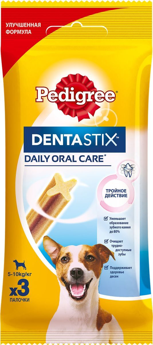 Дентастикс  Педигри  для собак мелких пород 45 гр