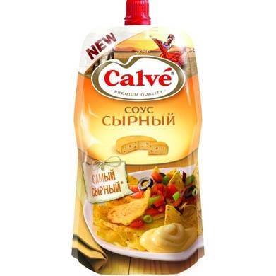 Соус  Кальве  сырный 230гр.