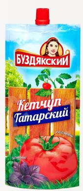 Кетчуп Буздякский  Татарский  260гр Дой-пак