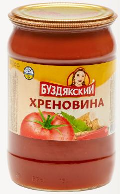 Соус Хреновина  Буздякская  670гр.