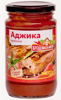 Соус Аджика Кавказская 350 г ТВИСТ
