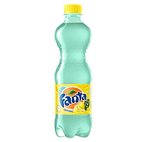 Газированная вода  Фанта  цитрус 0.5л