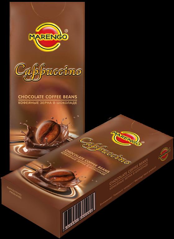 Кофейные зерна в шоколаде  Маренго  Капучино 25гр.