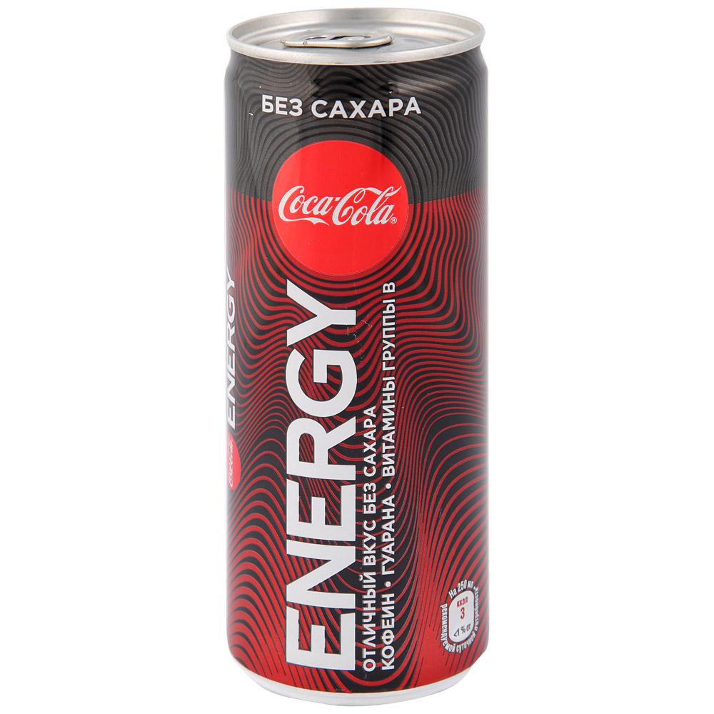 Энергетический напиток  Кока-Кола  Зеро Энерджи 0.25л.