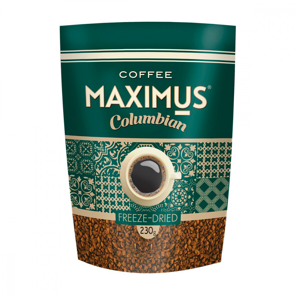 Кофе растворимый Maximus 'Columbian' 230гр.
