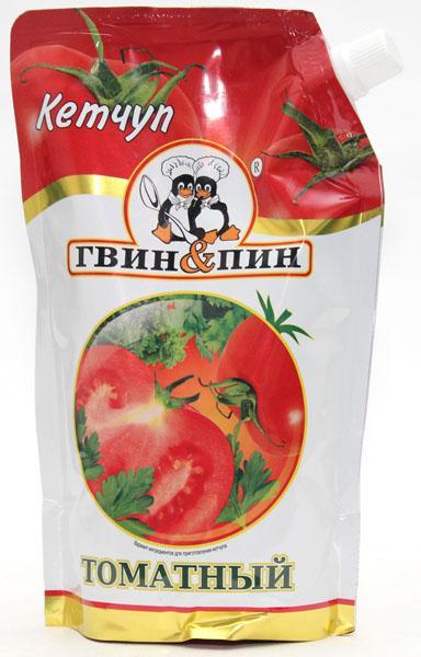 Кетчуп томатный 'ГвинПин' 500гр.