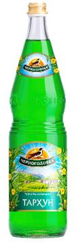 Лимонад Тархун 'Черноголовка' газ 1л