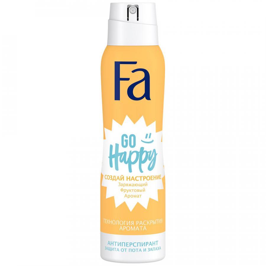 FA дезодорант аэрозоль 150 мл создай настроение GO HAPPY