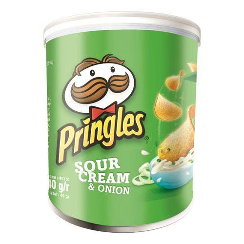 Чипсы Pringles со вкусом сметаны и лука 40гр.