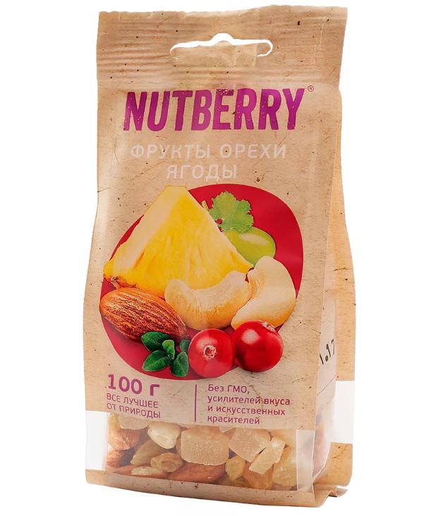 Смесь Nutberry Фрукты орехи и ягоды 100гр