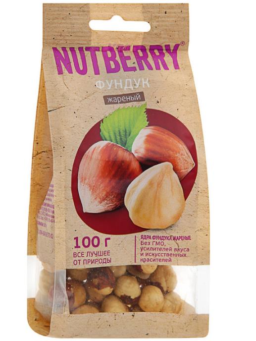 Фундук Nutberry жареный 100гр.