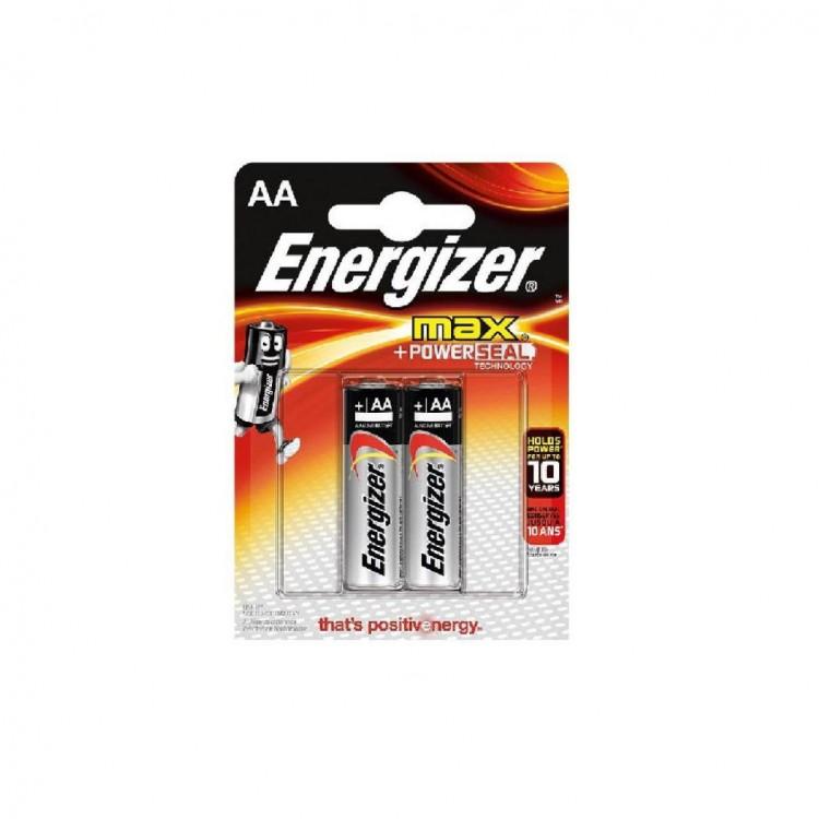 Батарейки Энерджйзер МАХ пальчиковые