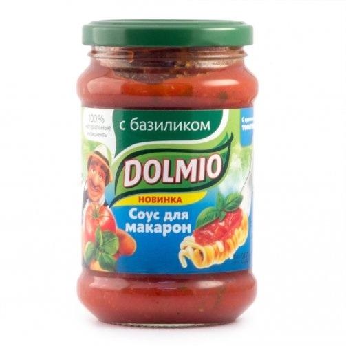 Соус  Долмио  с базиликом 350 гр.