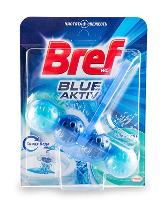 Туалетный блок  Bref  Color Activ с эвкалиптом 50гр.