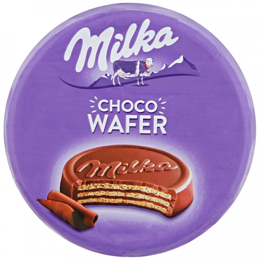 Милка CHOCO WAFER вафли с начинкой с какао