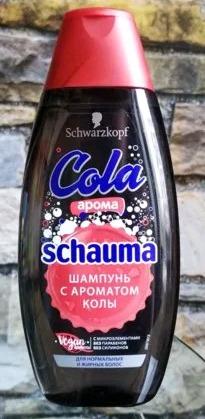 SCHAUMA 400 мл шампунь с ароматом колы