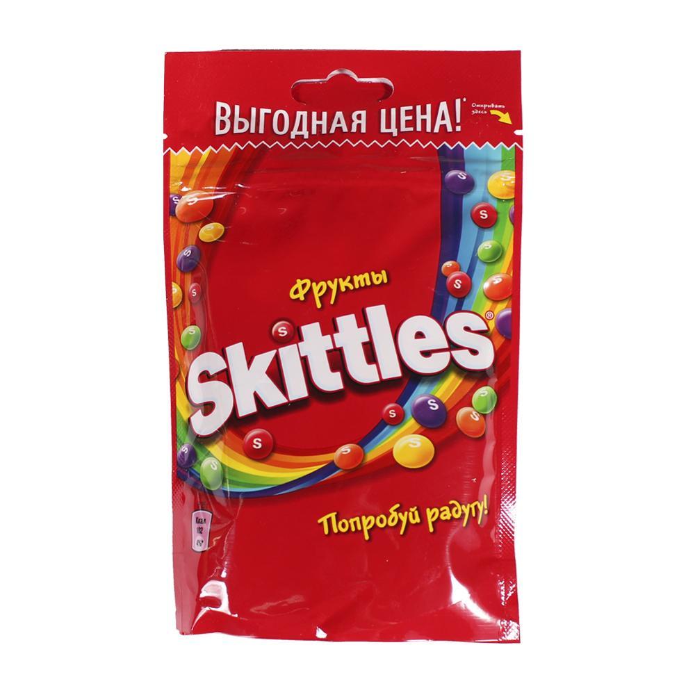 SKITTLES жевательные конфеты в глазури фрукты 70 гр.