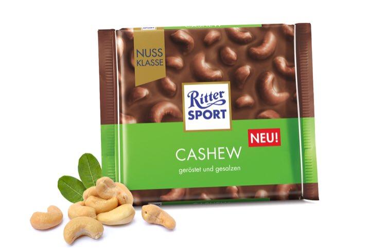 Шоколад RS молочный кешью 100 гр