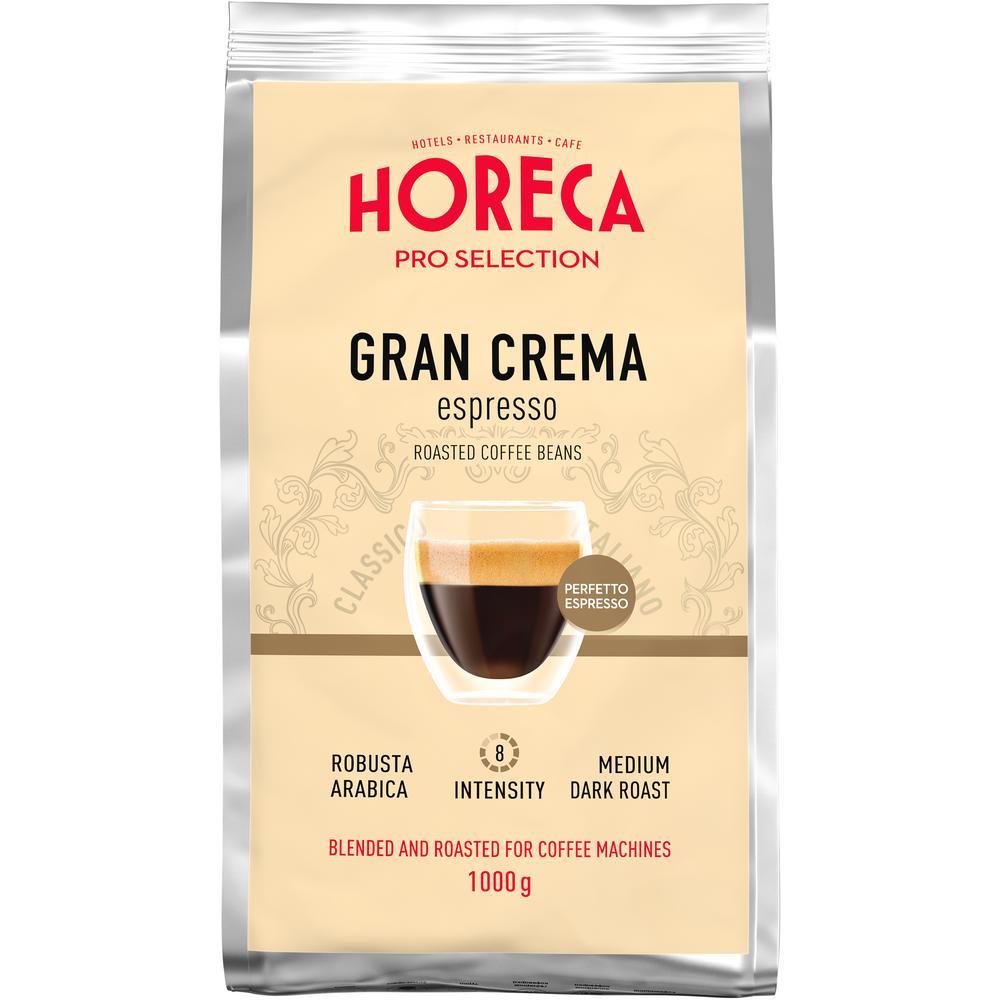 Кофе жареный 'ESPRESSO GRAN CREMA' в зёрнах в мягкой упаковке